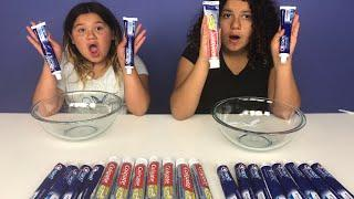 Don't Choose the Wrong Toothpaste Slime Challenge