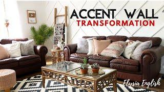 How To Accent Wall | Home Hardware | Here's How | Beauti-Tone Paint Project | DIY Boho Wood Wall