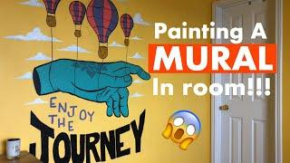 Painting A Mural In my Room ! (Timelapse)