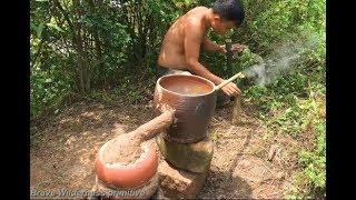 Primitive technology wine-making experiments | cooking wine
