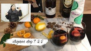 Vlogmas day 7 & 8  | How to make mulled wine | Giovanna Borza