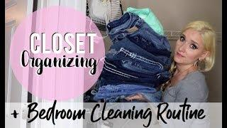Gypsy House Wife | Closet Organizing + Bedroom Cleaning Routine