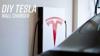 Tesla Model 3 DIY Garage Wall Charger   Under $200