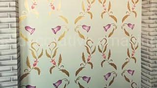 new wall paint design Nazim rajput