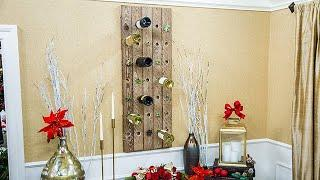 DIY Wine Rack - Home & Family