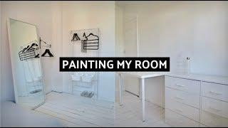 Painting my room | Removing wallpaper