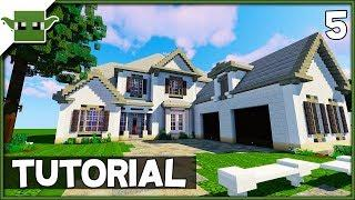 Minecraft 6-Bed Mansion Tutorial - Ep5 (How to Build a House in Minecraft)
