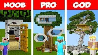 Minecraft How To Make A Fun Tree House
