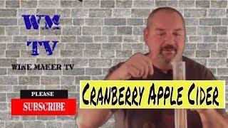 How to Make Cranberry Apple Cider