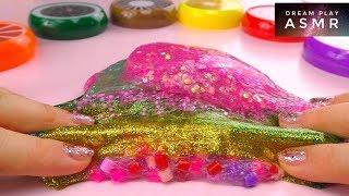 ★ASMR★ ALLE meine Slimes mischen + Slime Verlosung !!!   Dream Play ASMR