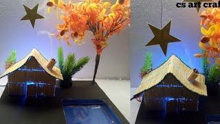 DIY: How to make matchstick house |matchstick art and craft|#matchstick house|