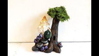 DIY Seashell Fairy House In Polymer Clay Tutorial