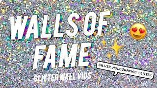 WALLS OF FAME! ✨✨ Silver Glitter Paint Additive