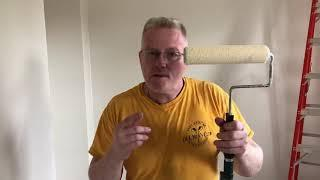How To Paint Walls and Ceilings With A Roller FAST - Spencer Colgan