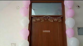 Birthday Simple House Decoration By Divya !!